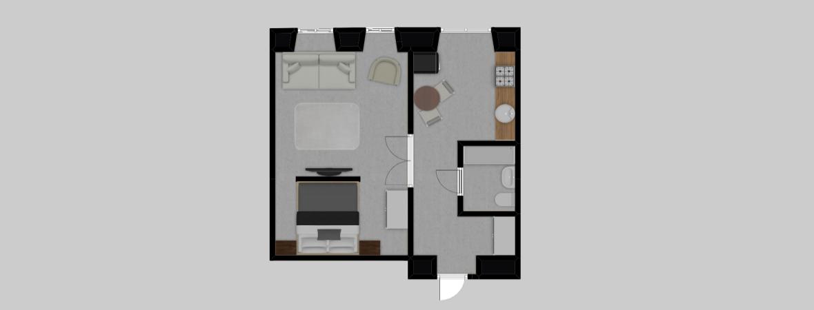 Łazarza 3 · Stare Miasto/Grzegórzki · 36,5 m² · 2 pokoje · 499.000 zł · Więcej »