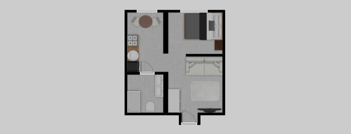 Łazarza 3 · Stare Miasto/Grzegórzki · 29,9 m² · 2 pokoje · 429.000 zł · Więcej »