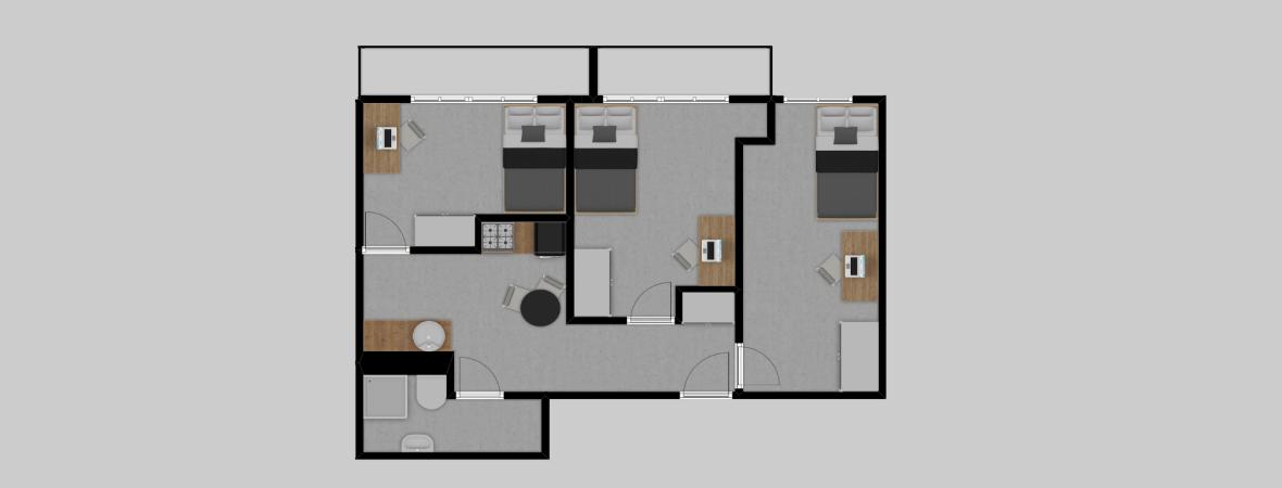 Al. Pokoju 7 · Dąbie/Grzegórzki · 53,21 m² · 3 pokoje · 499.000 zł · Więcej »